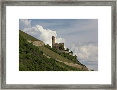 Ehrenfels Castle 04 Framed Print by Teresa Mucha