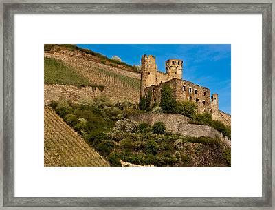Ehrenfels Castle Ruin Framed Print