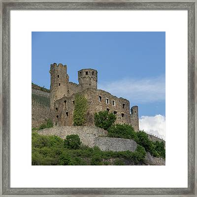 Ehrenfels Castle Squared Framed Print by Teresa Mucha