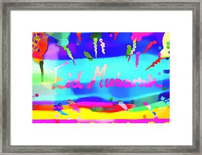 Eid Moubarak Framed Print by Tom Gowanlock