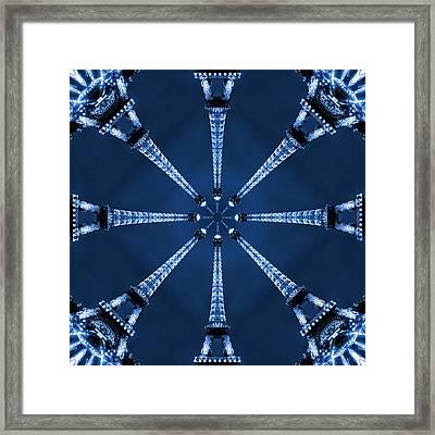 Eiffel Art 17 Framed Print by Mike McGlothlen