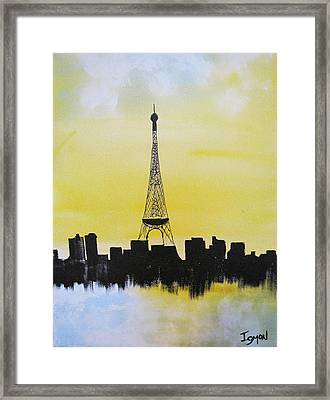 Eiffel Of Paris Framed Print