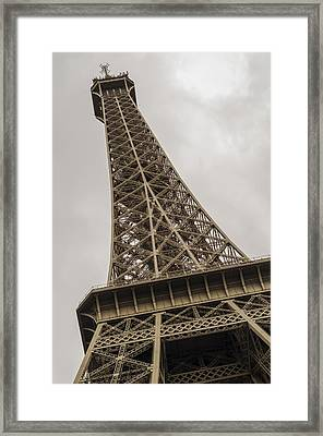 Eiffel Framed Print by Pablo Lopez