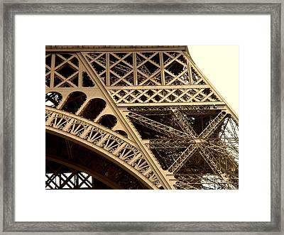Eiffel Structure 2 Framed Print by John Julio