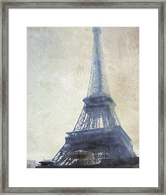Eiffel Tower Framed Print by Catherine Alfidi