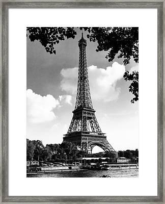 Eiffel Tower Framed Print by Contemporary Art
