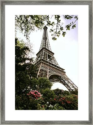 Eiffel Tower Framed Print by Joe Bonita