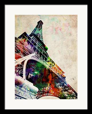 Eiffel Framed Prints
