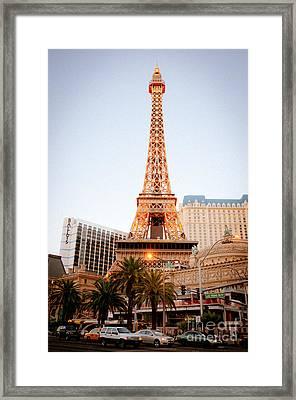 Eiffel Tower Nevada Framed Print by Andy Smy