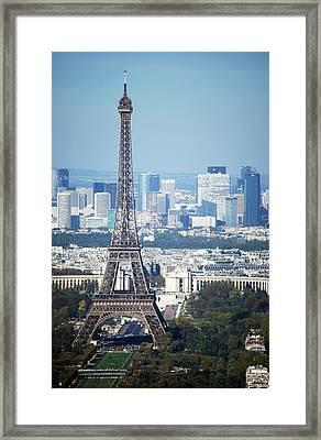 Eiffel Tower Framed Print by Photo by Daniel A Ferrara