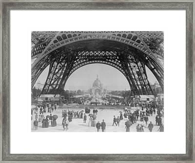 Eiffel Tower - World's Fair 1889 Framed Print