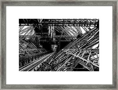 Eiffel Tower Framed Print by M G Whittingham