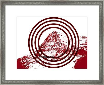 Eiger Nordwand Framed Print by Frank Tschakert