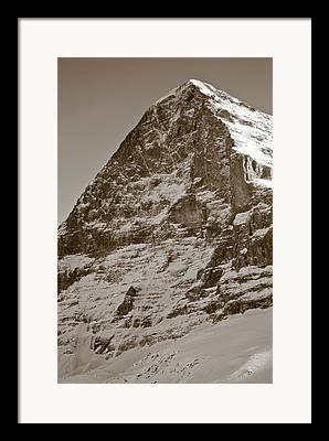 Grindelwald Framed Prints