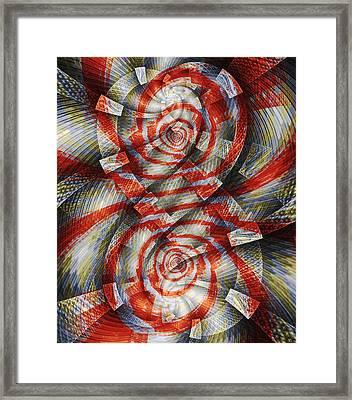 Eight Framed Print by Anastasiya Malakhova