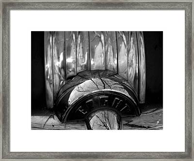 Eight Framed Print by Audrey Venute