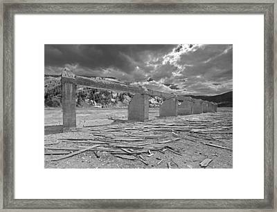Eight  To The East Framed Print by James Steele
