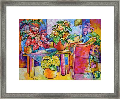 Eighteen Past Twelve Framed Print by Ana Goldberger