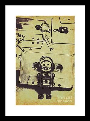 Rewind Framed Prints