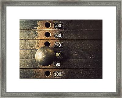 Eighty Framed Print by Joseph Skompski