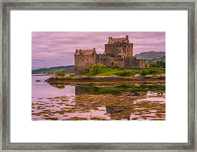 Framed Print featuring the photograph Eilean Donan Castle I by Steven Ainsworth
