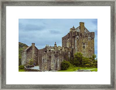 Framed Print featuring the photograph Eilean Donan Castle II by Steven Ainsworth