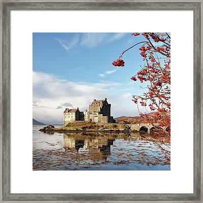 Eilean Donan - Loch Duich Reflection - Skye Framed Print