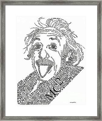 Einsteined. Framed Print