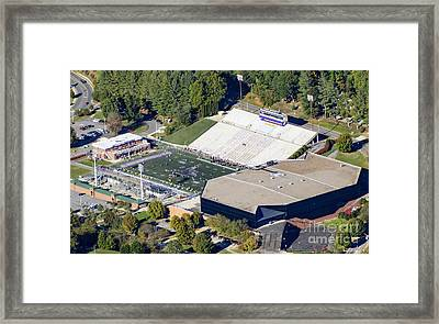 E.j. Whitmire Stadium And Ramsey Center At Wcu Framed Print