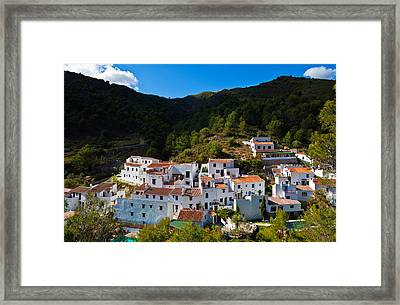 El Acebuchal  The Lost Village Framed Print by Panoramic Images