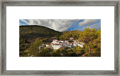 El Acebuchal,the Lost Village Framed Print by Panoramic Images