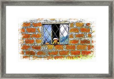 El Altar Kid 872 Framed Print