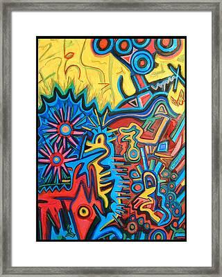 El Arca De Noa Framed Print by ArJei EmSi