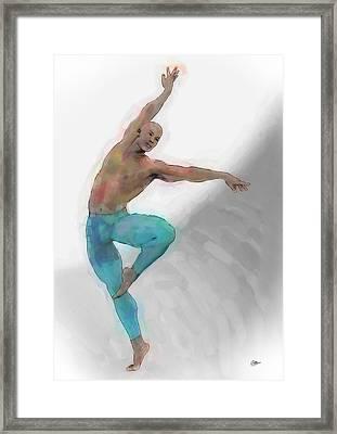El Arte De La Danza Framed Print by Quim Abella