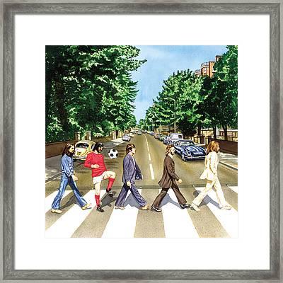 El Beatle Framed Print by John Hebb