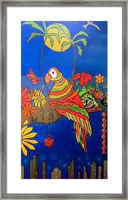 El Bird Framed Print by MikAn 'sArt