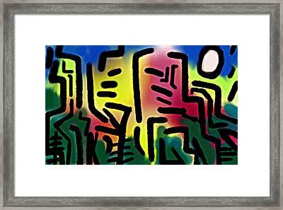 El Bosque  Framed Print by Paul Sutcliffe