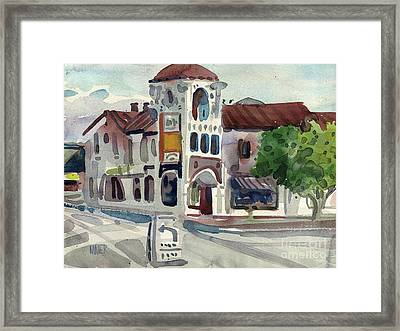 El Camino Real In San Carlos Framed Print by Donald Maier