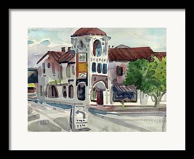 El Camino Real Framed Prints