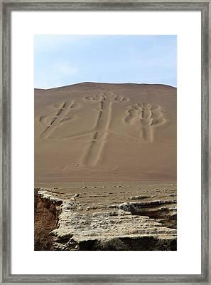 El Candelabro Framed Print by Aidan Moran