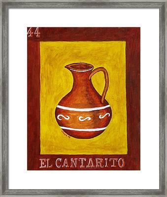 El Cantarito Framed Print
