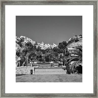 El Capistrano, Nerja Framed Print by John Edwards