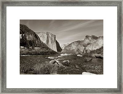 Framed Print featuring the photograph El Capitan by Joseph G Holland