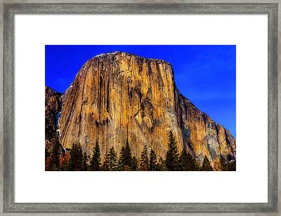 El Capitan Mountain Framed Print by Garry Gay