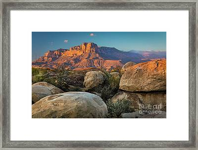 El Capitan Twilight Framed Print