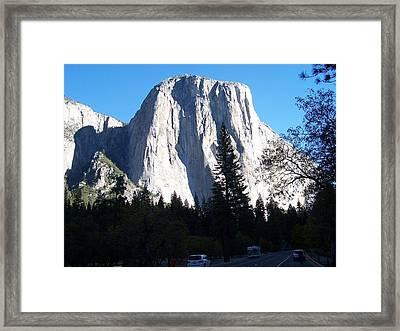 El Capitan Yosemite Framed Print by Vijay Sharon Govender