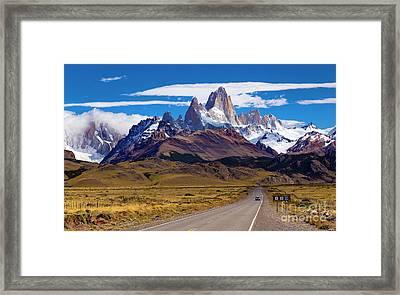 El Chalten 0001 Framed Print