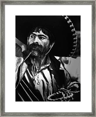 El Charro Framed Print