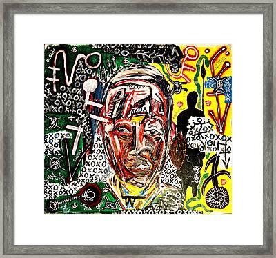 El Congo Framed Print by Jay Lonewolf