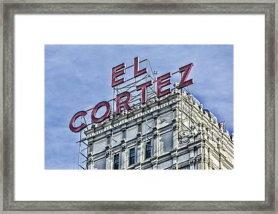El Cortez IIi Framed Print